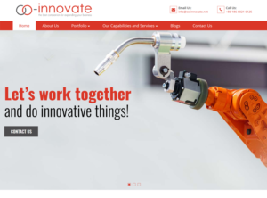 Co-innovate new website is on line now!